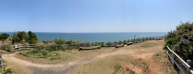 太東埼の眺め