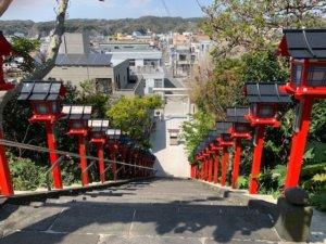遠見岬神社の階段