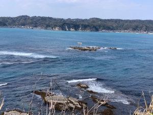 遠見岬神社の鳥居