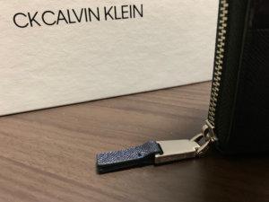 財布の外側ファスナー
