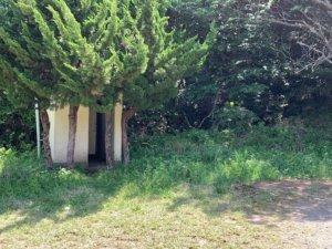 七ツ池の公衆トイレ