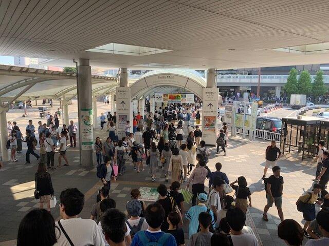 海浜幕張駅南口