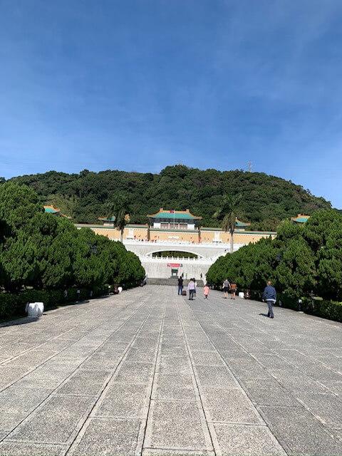 広い故宮博物院