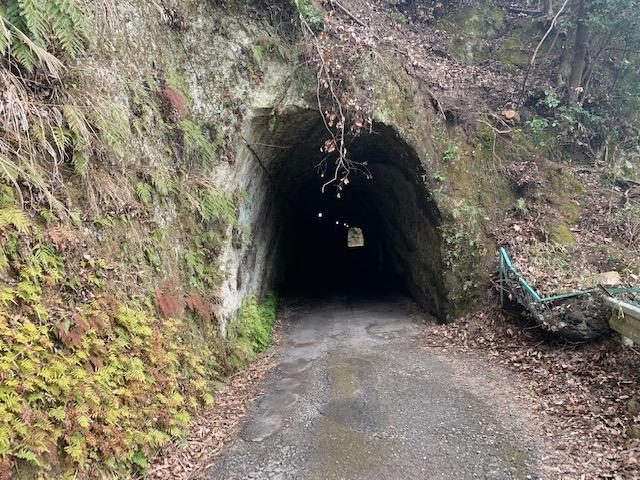さらにトンネル