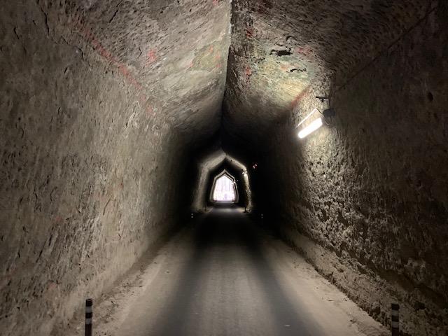 柿の木台第一トンネルへ一歩