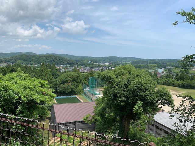 お城からの眺望
